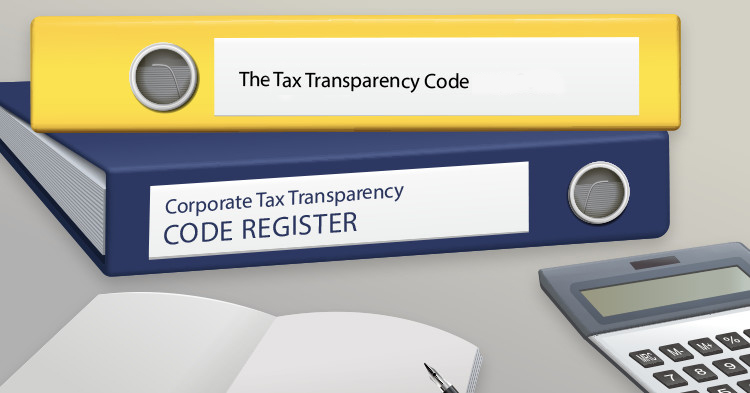 Carousel - Tax transparency code register
